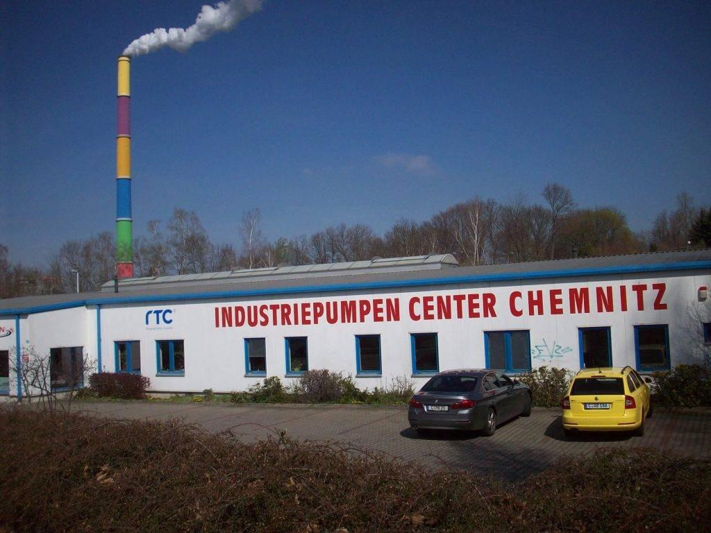 Firmensitz der Firma Pumpen-Berthold in Chemnitz.
