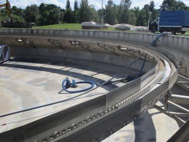 Wasserhaltung im Einsatz fuer Baubetriebe und Kommunen